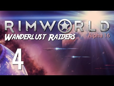 Ep 4 - Living quarters (Lets play RimWorld Alpha 16 gameplay)