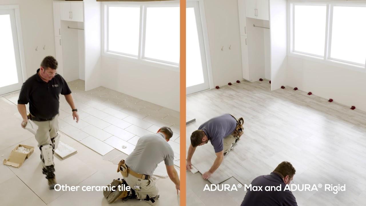 vinyl plank is better than ceramic tile