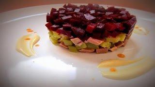 Салат с Говядиной и Свеклой.Очень Просто и Вкусно