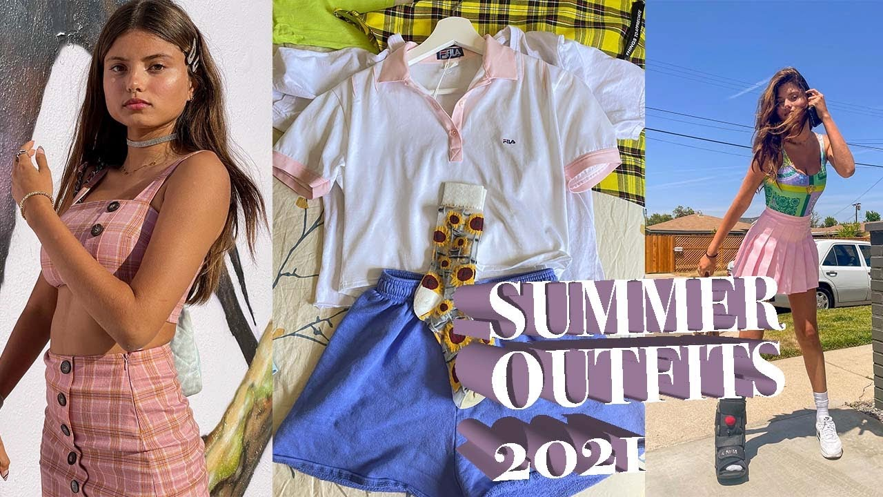 WHAT I'M WEARING THIS SUMMER!! Outfit ideas for summer 2021