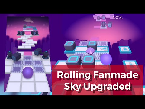 Rolling Sky - Sky v2 (Difficulty Upgraded)