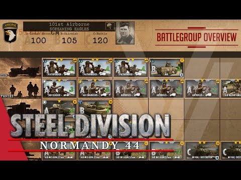 101st Airborne (Screaming Eagles) - Steel Division: Normandy 44 Battlegroup Overview #13