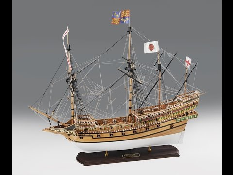 Victory Models Revenge Model Ship Kit Unboxing Video