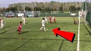 Video: Cristiano Ronaldo Junior - Neues Super-Tor für Juventus U9 !