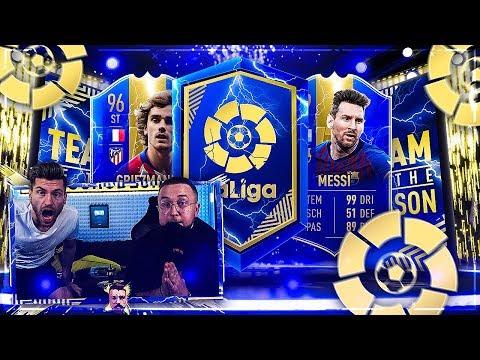 FIFA 19: LaLiga TOTS PACKs mit SBCs und Spaßiger WL OHNE RAGE bei 45 Grad Studio Temperatur !!