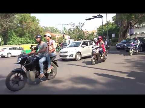 Running on bridget road bangalore | Beauty of Bridget road
