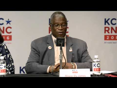 Kansas City Mayor Sly James talks about RNC site selection committee