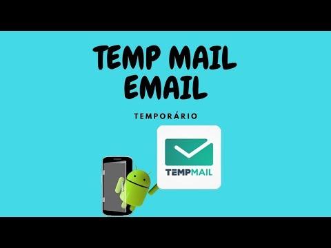 EMAIL TEMPORÁRIO - TEMP MAIL 2017