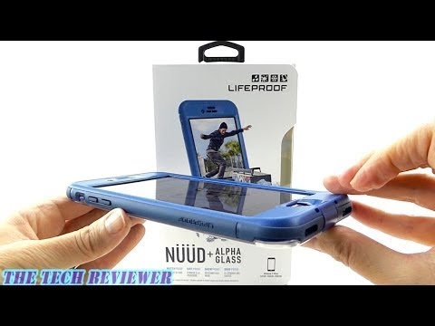 *NEW* LifeProof NUUD + Alpha Glass for iPhone 7 Plus: Installation and Review!