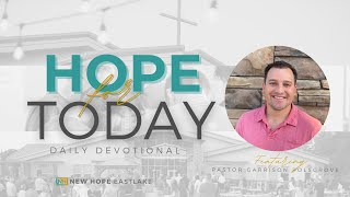 Hope for Today | Pray, Don't Predict | 11.10.20