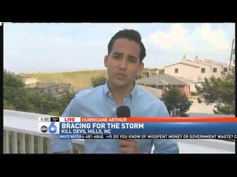 Arthur Threatens July Fourth Plans Along East Coast