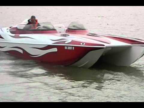 2004 Eliminator 27 Daytona with 750 hp LTS 101 Turbine Power lake cumberland marine