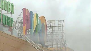"""Пожар в ТЦ """"Рио"""" в Москве, 14 человек в больнице"""