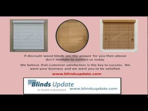 Discount Wood Blinds Save You Money