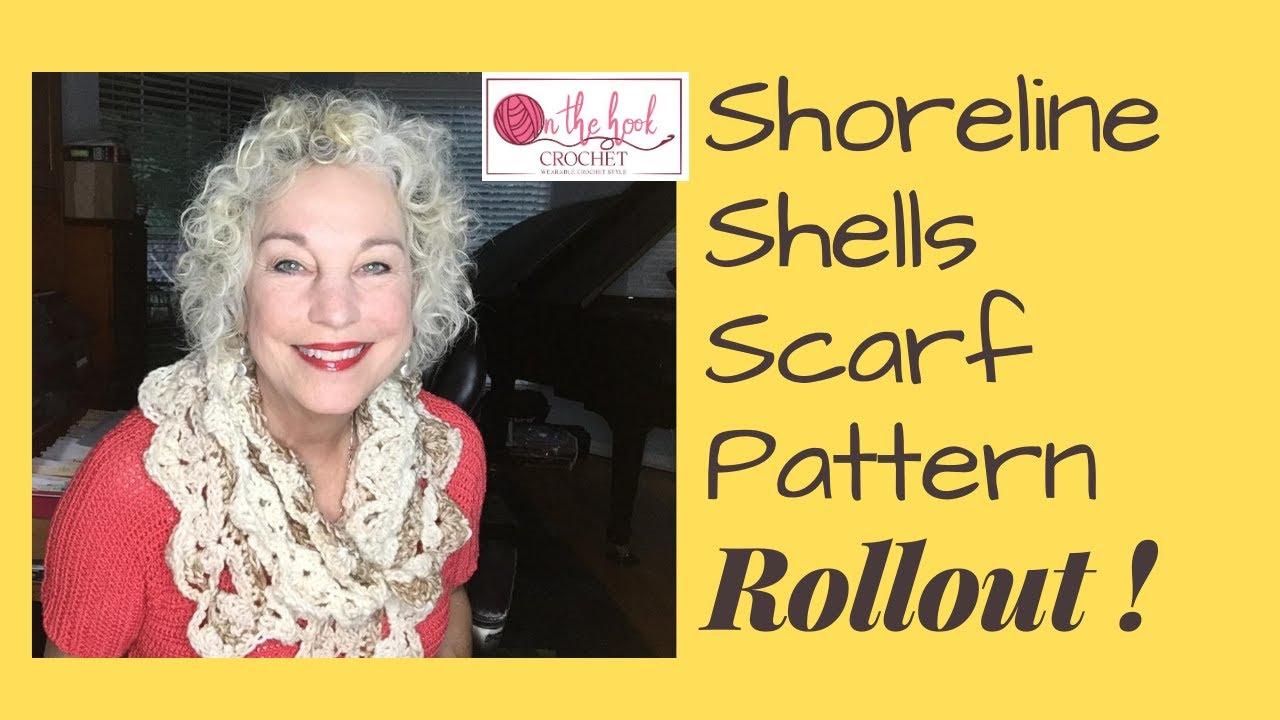 Shoreline Shells Pattern Release!  On The Hook Crochet