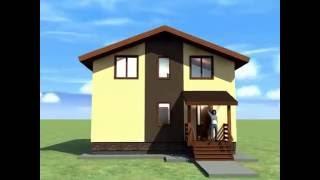 дом 9*10 из керамзитобетона+ппу+покраска или из арболита(Компактный керамзитобетонный дом с тремя спальнями, двумя санузлами, отдельной топочной, большой прихожей,..., 2016-08-24T05:17:21.000Z)