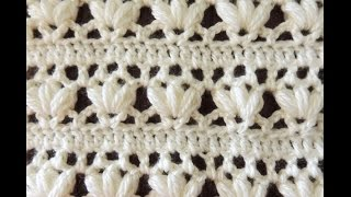 Repeat youtube video Crochet: Punto Combinado # 14