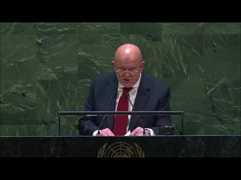 МОЩНОЕ выступление Небензи в ООН по ситуации на Украине