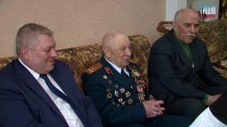 Ветерану Великой Отечественной войны вручили юбилейную медаль к столетию вооружённых сил