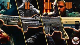 Evolution of Shotguns from the CoD Black Ops Series | (BO1-BO4)