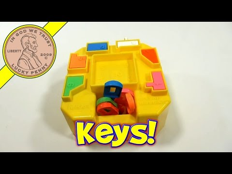 Keys Of Learning #323, 1980 Playskool Toy