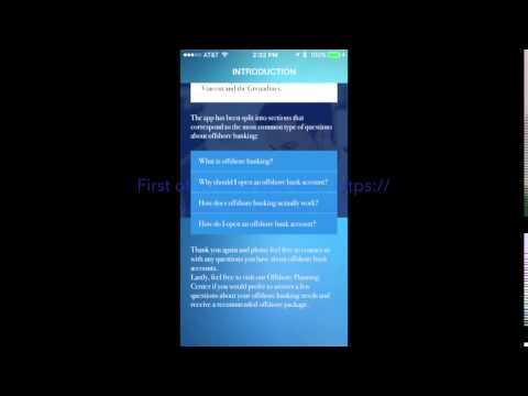 Frank SanPietro - Offshore banking app via Harbor Financial Services Offshore