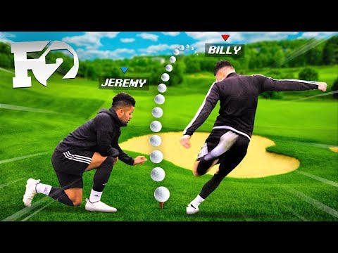 Using F2 FREESTYLERS Swaz Tekkers In MINI GOLF! (Golf It!)