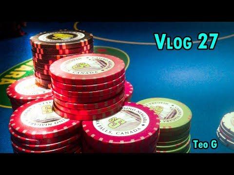 BOOKING A WIN! at Niagara | 2/5 NL Holdem | Vlog #27