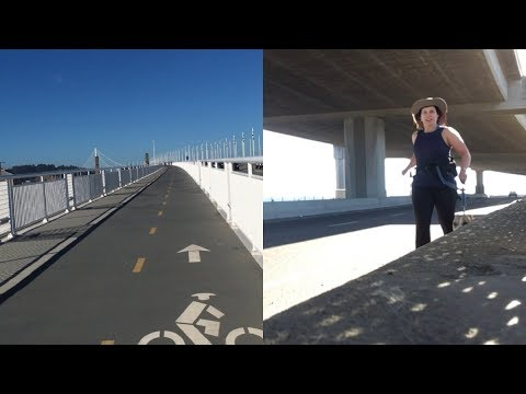 Running #vlog: West Oakland to the Bay Bridge on empty streets!