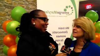 Dr. Sharon Reporting LIVE | Emerge Maryland | Diane Fink
