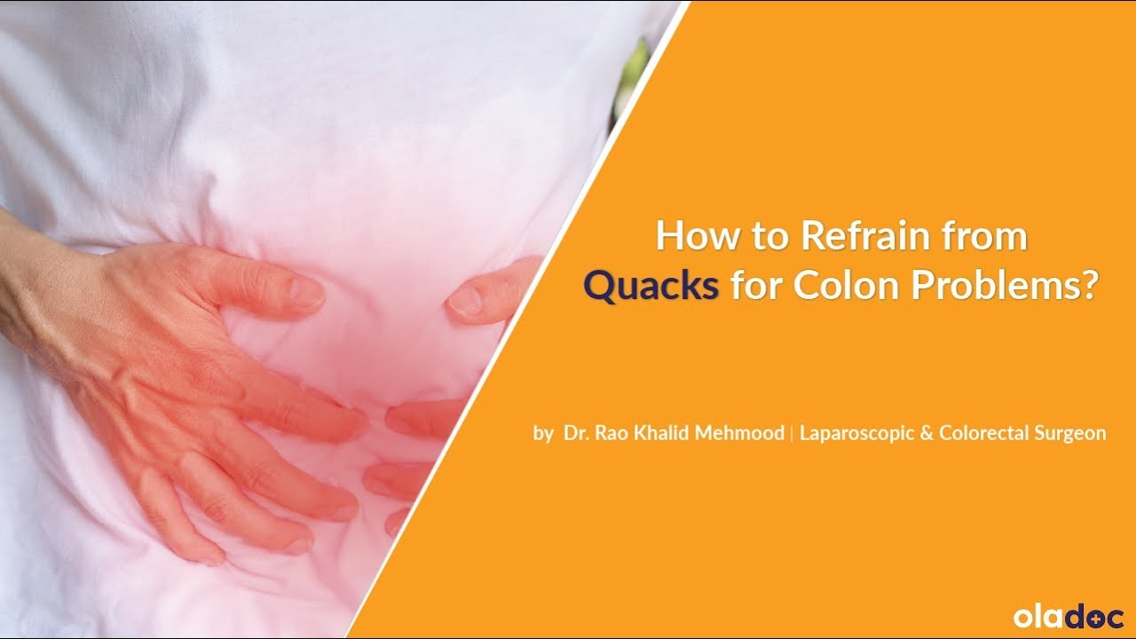 How To Refrain From Quacks For Colon Problems Sa Kaisa Bacha Jai Urdu Hindi Safety Precaution Youtube
