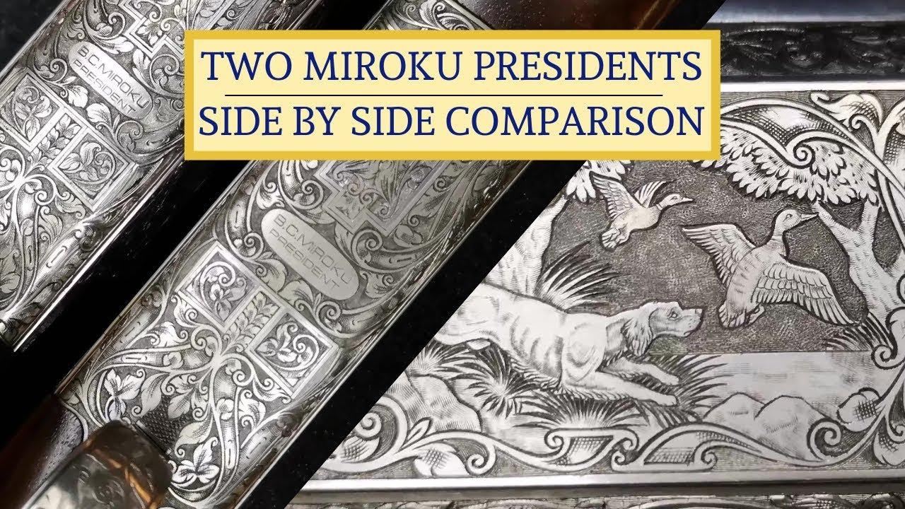 TOP QUALITY - Miroku Shotguns G12 Presidents Sporter & Trap