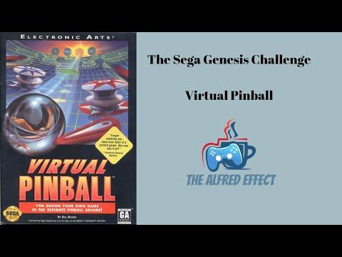 The Sega Genesis Challenge – Virtual Pinball | The Alfred Effect