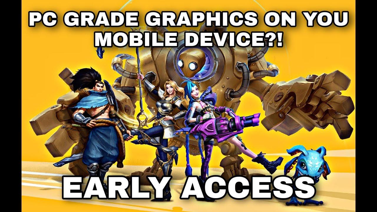 League of Legends: WildRift   Early Access Gameplay