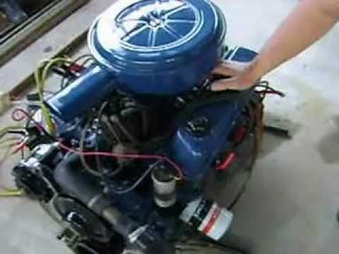 Motor 302 V8 Funcionando No Ch 195 O Youtube