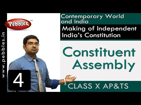 Constituent Assembly | Making of Independent India's Constitution | Social Science | Class 10