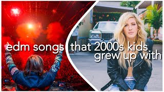 EDM SONGS THAT 2000S KIDS GREW UP WITH (+ SPOTIFY PLAYLIST) - classic 90s edm songs