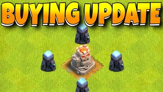 """UPDATE IS LIVE!! Buying NEW UPDATE!! """"Clash Of Clans"""""""