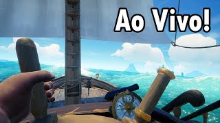 SEA OF THIEVES AO VIVO - Aprendendo a Ser um Pirata!!!