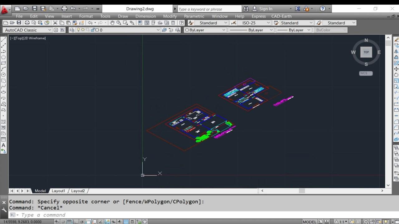 Converter planta em isométrico no AutoCad - YouTube