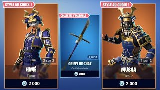 FORTNITE NEW SKINS - MUSHA - HIMÉ - FORTNITE BOUTIQUE AUGUST 24, 2018