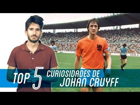 5 cosas que no sabías de JOHAN CRUYFF