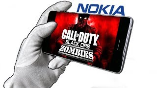 CALL OF DUTY ZOMBIES ON NOKIA PHONE CHALLENGE!