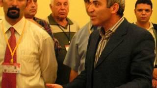 2004 European Club Cup Garry Kasparov no longer wants to be filmed by Fabrice Wantiez