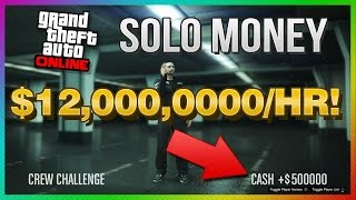 GTA 5 PS4 + Xbox One SOLO UNLIMITED Money After 1.19 Update! (GTA 5 Next Gen)