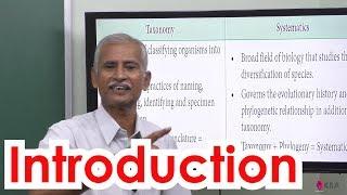 1.Botany | Taxonomy & systematic botany | Introduction