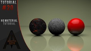 Tutorials - HOW TO MAKE HIGH QUALITY/REALISTIC MATERIALS IN CINEMA4D!