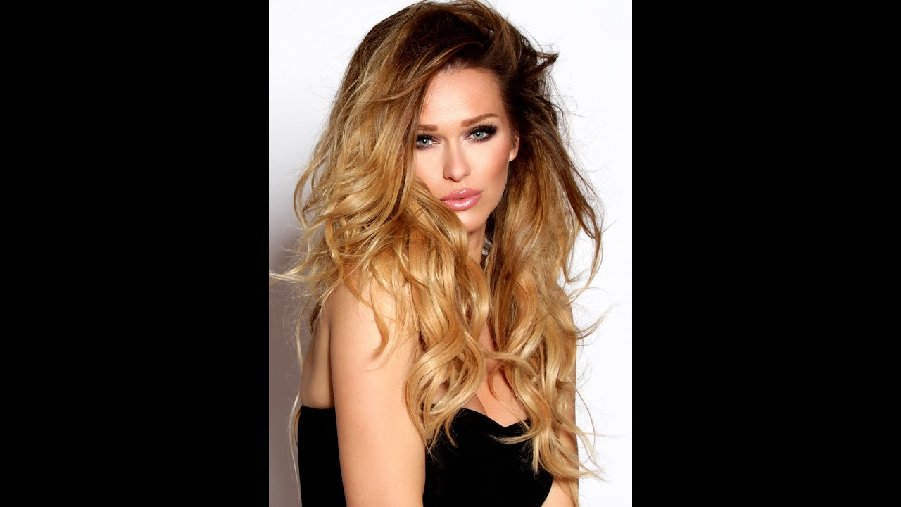SEXY WAVY HAIR STYLE  YouTube - Wavy hair