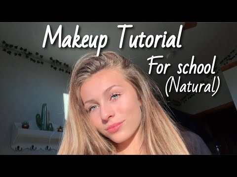 back to school makeup routine (natural and easy) thumbnail