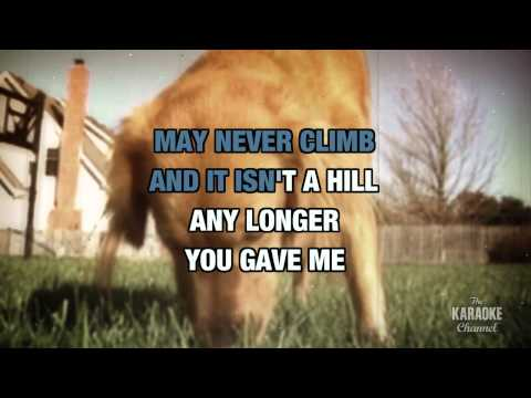 You Gave Me A Mountain in the style of Gene Watson   Karaoke with Lyrics